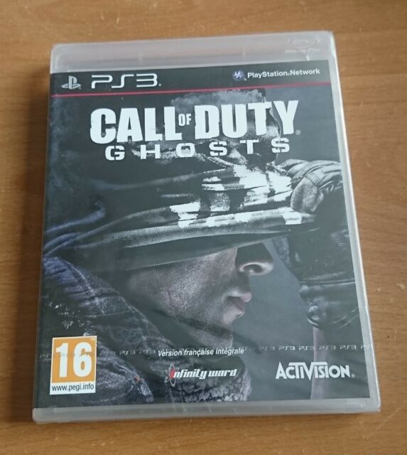 Call Of Duty Ghosts PS3 Playstation 3 Neuf Blister officiel