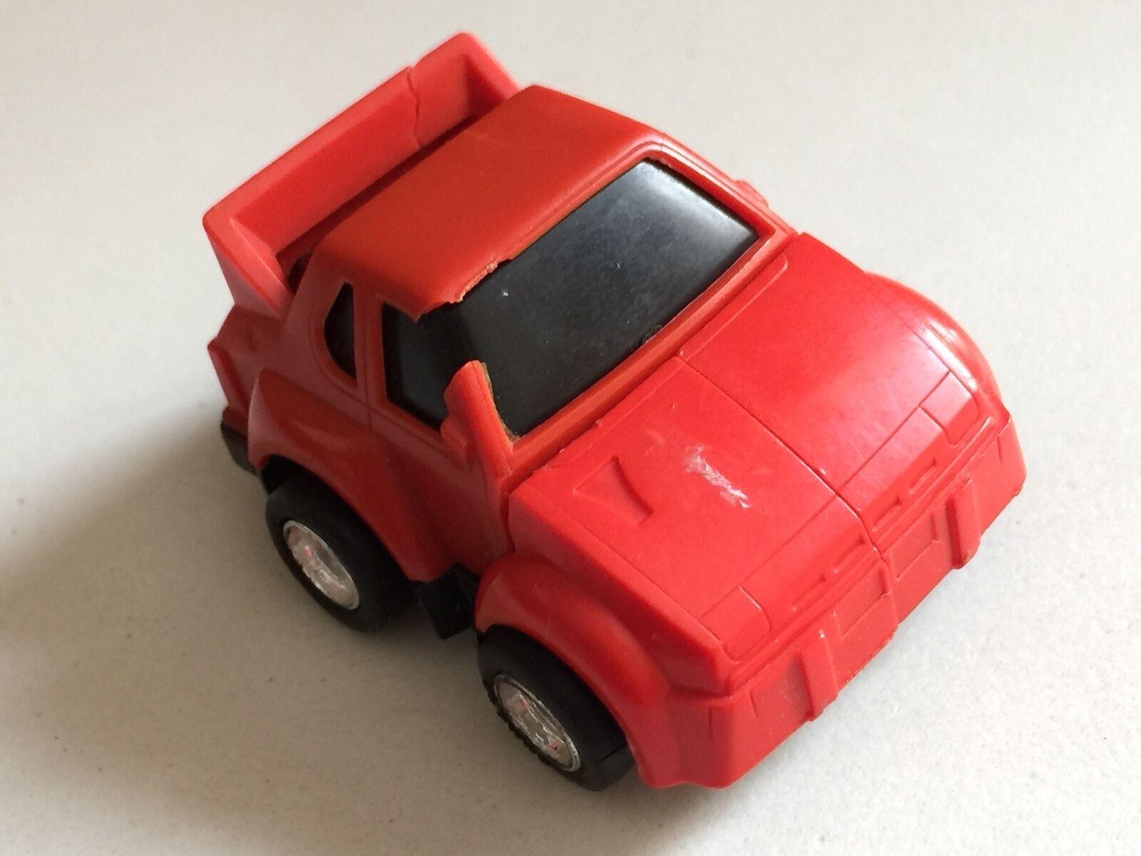 Transformers G1 1985 rosso Minibot IGA (daño) (mexicano) Hasbro Takara