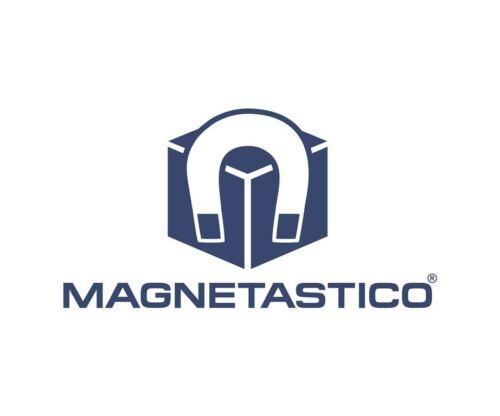 Magnetastico®10 Stk selbstklebende Neodym Magnete N52 Rechteck 40x10x1 mm