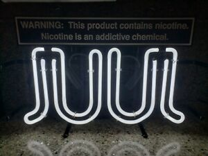 BRAND NEW JUULS Lighted Neon Store Display Sign Tobacco Cig Advertising