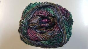 Noro-Silk-Garden-Sock-Yarn-S413-Burgundy-Green-Brown-100g