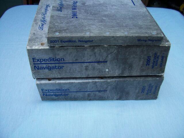 2001 Ford Expedition Lincoln Navigator Workshop Manuals 1