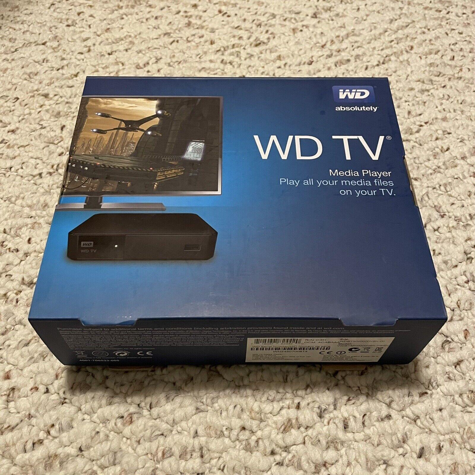WD TV - Streaming Media Player C3H / WDBYMN0000NBK [New, Open Box] c3h media open player streaming wdbymn0000nbk