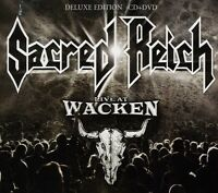 Sacred Reich - Live At Wacken [new Cd] With Dvd on sale