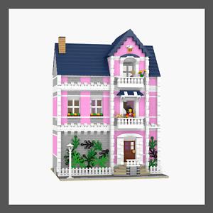 LEGO Custom Modular Ladies Apartment INSTRUCTIONS ONLY!