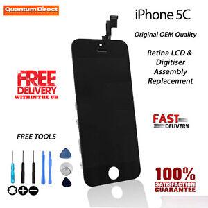 Rechange-Retine-LCD-et-numeriseur-ecran-tactile-Assemblage-pour-iPhone-5C