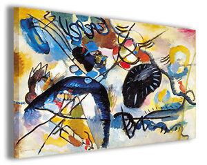 Quadro Wassily Kandinsky vol IX Quadri famosi Stampe su tela ...