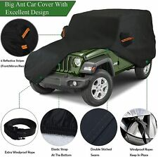 6 Layers Full Car Cover Waterproof Outdoor Suv Auto For 1987 2021 Jeep Wrangler Fits Jeep