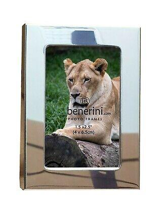 Plain Silver Colour Aluminium Photo Picture Frame Freestanding Home Decor Gift