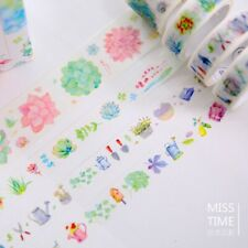4 Pcsset I Love Succulent Washi Tape Supplies School Stationery Adhesive Office