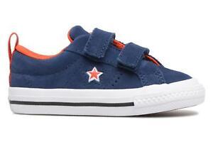 Ninos-Converse-One-Star-2V-Ox-Molded-Varsity-Star-Deportivas-Azul