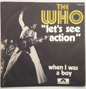 THE-WHO-1971-7-034-Vinyl-Let-s-See-Action-polydor-2058168-France