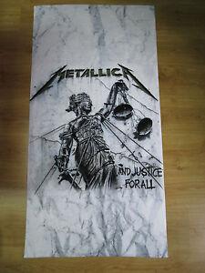 Metallica-And-Justice-for-All-Beach-Towel-Mega-Rare