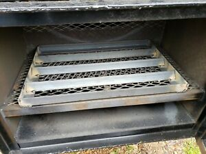 Angle-Iron-Charcoal-Firewood-Grate-BBQ-Smoker-Grill-FireBox-Fire-Box-Competition