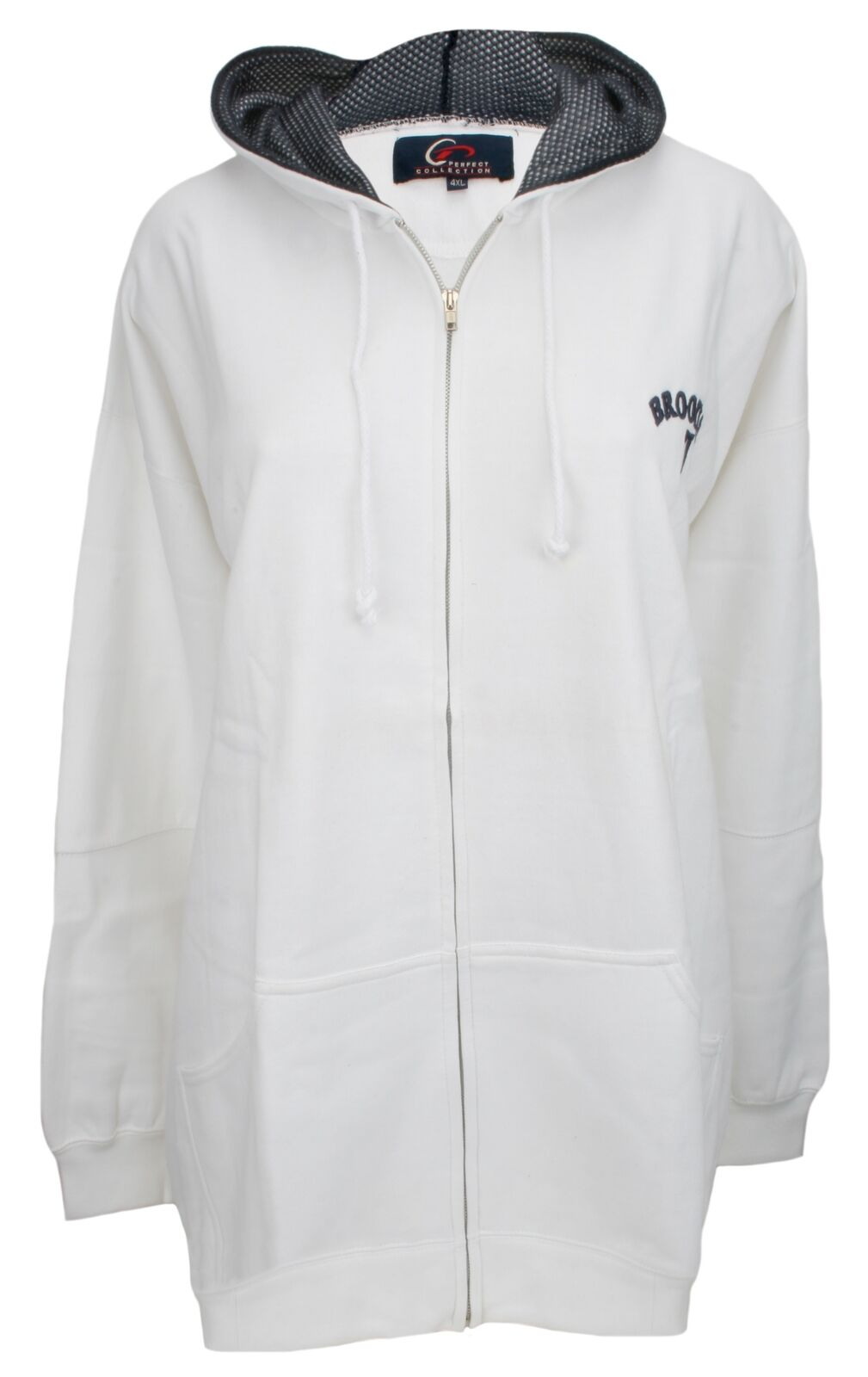 Perfect Collection EmbroideROT Brooklyn Hoodie Weiß