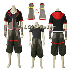 New Arrival Kingdom Hearts Ii 3 Sora Cosplay Costume Halloween Full