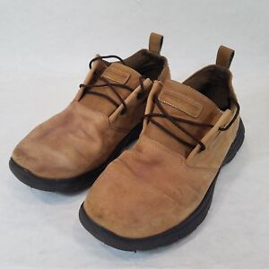 Details about Men's SKECHERS USA Inc Relaxed Fit Hinton Boley Oxford SN64541 Size 9.5