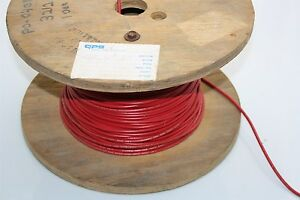 WEICO Wire ~500 FT 12 AWG 600V 105° WI11-1202-001 Red Style: 1015 ...
