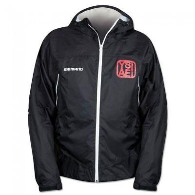 Shimano Yasei Packaway Jacke schwarz//weiß
