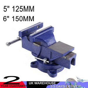 Super Details About 4 5 6 Engineer Vice Vise Swivel Base Workshop Clamp Jaw Work Bench Table Pabps2019 Chair Design Images Pabps2019Com