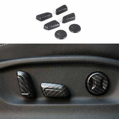 For Volkswagen Tiguan 2017-2021 ABS Carbon Fiber Seat ...