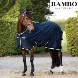 Horseware Rambo Cotton Sheet (Navy Beige Baby bluee Navy) FREE UK Shipping