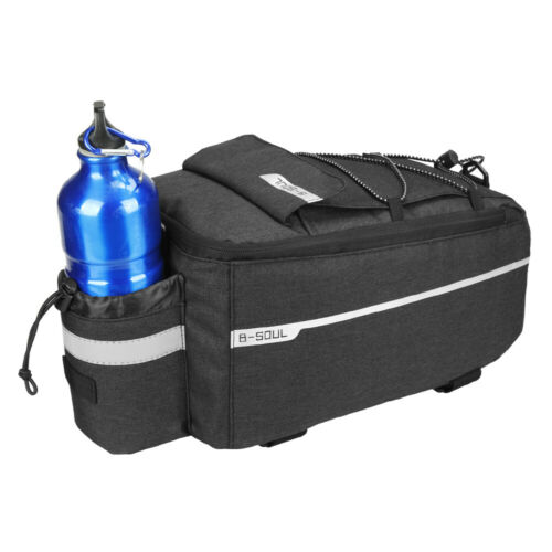 B-SOUL Insulated Cooler Bag Cycling Bicycle Rear Rack Storage Pannier Bag F9C1