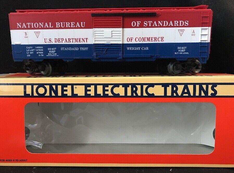Lionel 6-52098 '96 TTOS U.S. Dept. Of Commerce Boxcar  NEW IN BOX