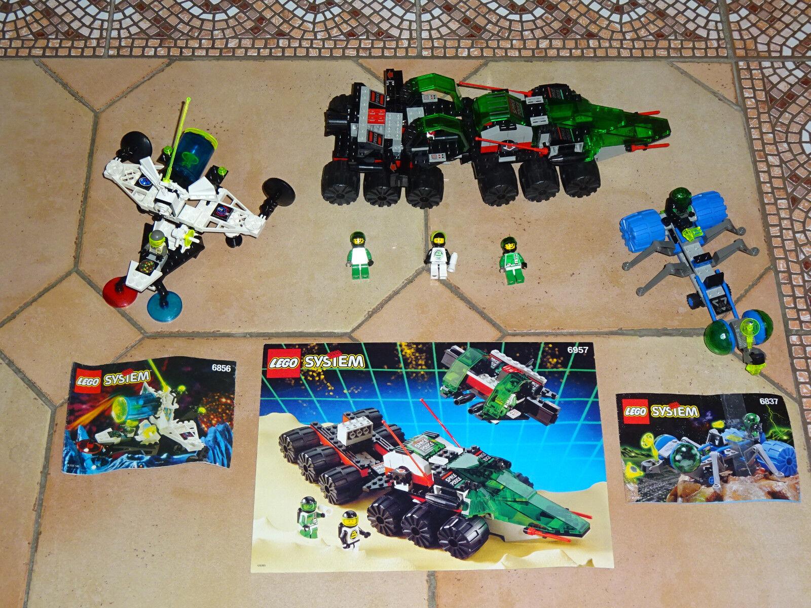 LOT  Lego ESPACE-6957-Solar-Snooper 6837 6856 COMPLET AVEC NOTICE