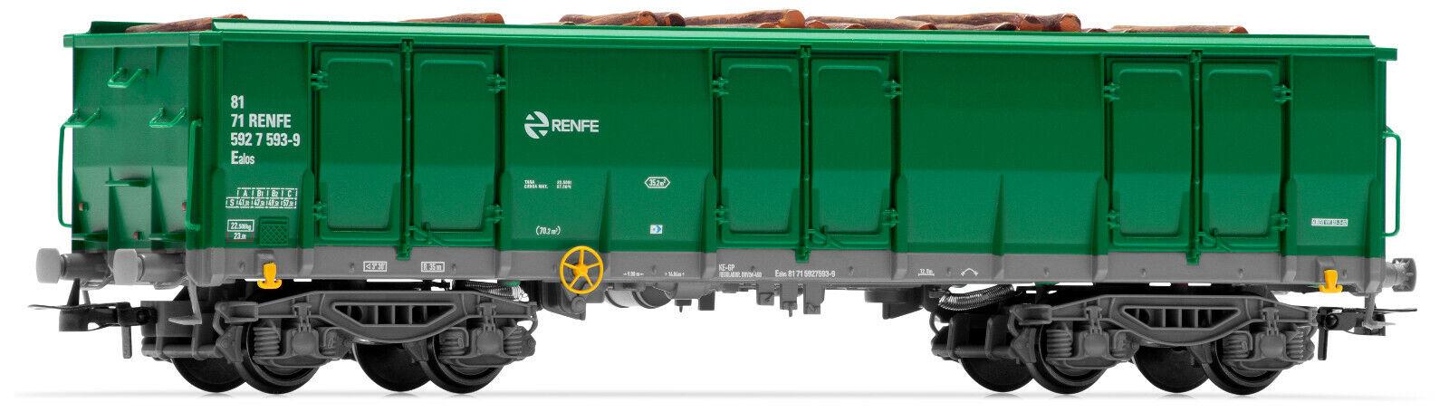 Electredren E6541 offener Güterwagen Ealos Renfe Ep.V-Vi neu OVP