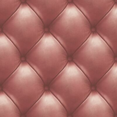 3D Leather Wall Wallpaper Padded Red Quilted Cushioned ...