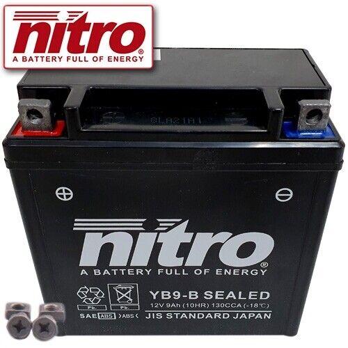 Batterie Piaggio // Vespa Skipper 125 ST Leader 4T Bj 2003 Nitro YB9-B GEL