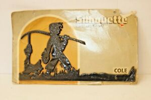 Mid-Century-Silhouette-Cole-Cast-Aluminum-Sign-Address-Lamp-Post-FREE-SHIPPING