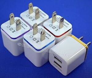 USB-wall-Fast-Charger-Adapter-1A-2A-5V-For-Android-Galaxy-iPhone