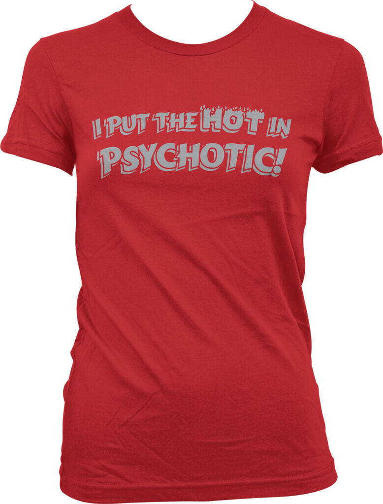 1Tee Womens Loose Fit I/'m The Psychotic Cat Everyone Warned You About T-Shirt