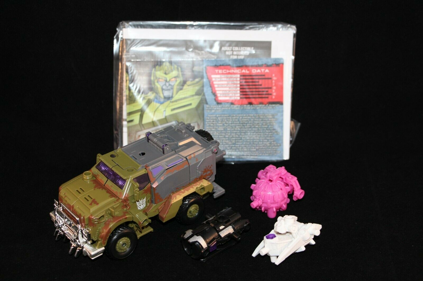 Transformers Botcon 2015 Cybertron Most Wanted scatola Set Megatron cifra nuovo