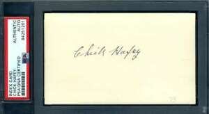 Chick-Hafey-PSA-DNA-Coa-Autograph-Hand-Signed-3x5-Index-Card