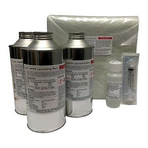 Unpigmented-3Kg-Fibreglass-Repair-Kit-Resin-amp-Fibreglass-Kit-No-Tools