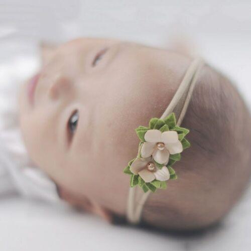 3pcs//Set Baby Ribbons Girls Elastic Headdress Hairbands Headbands Toddler Bow
