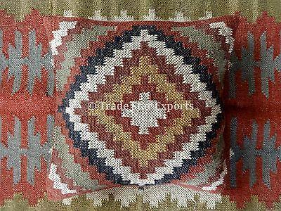 Handmade Kilim Pillow Covers Vintage Kelim Rug Cushions 18x18 Throw Pillow Shams