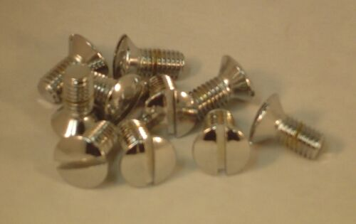 Slotted Oval Head Countersunk Screw M6x20 CHROME plated M6 Mercedes Benz BMW