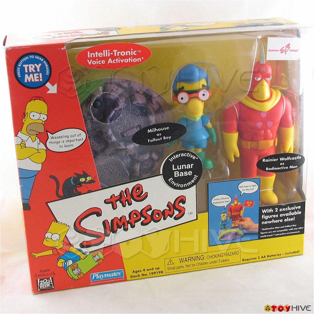 Simpsons Lunar Base interactive environment Radioactive Man Fallout Boy