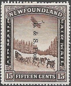 Newfoundland-Scott-Number-211-VF-H-Cat-C-15