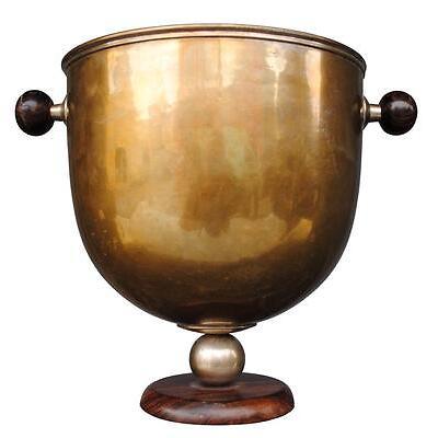 Saut à champagne en laiton Art déco 1930