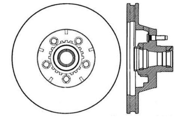 disc brake rotor disc front centric 121 63021 ebay TRD Brakes Tundra