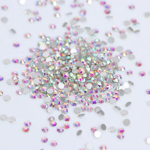 1440pcs-Flat-Bottom-Rhinestone-Colorful-3D-Nail-Decoration-SS3-Manicure-DIY-Tips