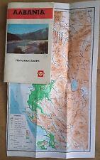 ALBANIA ALVANIA TOURIST GUIDE BOOK IN GREEK LANGUAGE, TIRANA, 1987