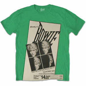 David-Bowie-Concert-039-83-Germany-Official-Merchandise-T-Shirt-M-L-XL-Neu