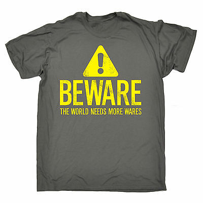 BE ALERT THE WORLD NEEDS MORE LERTS T-SHIRT pun clever funny birthday gift 123t