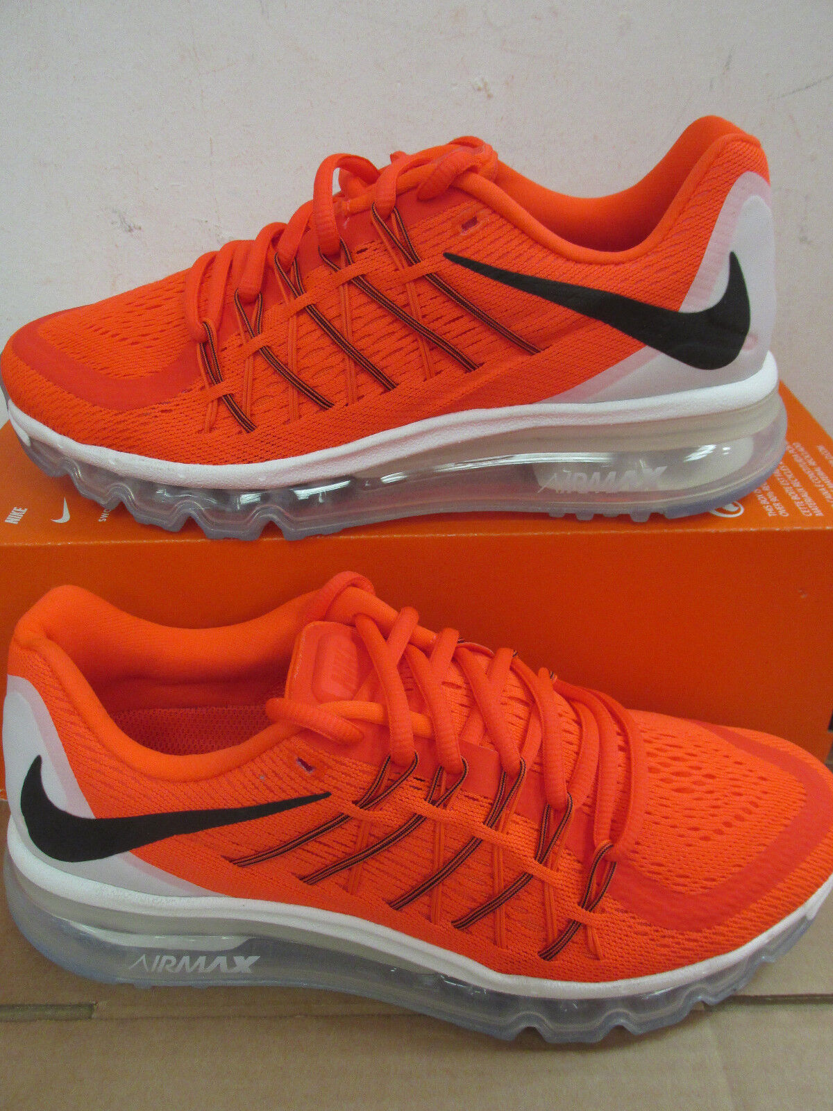 factory price 425ab 195f1 Nike air max 2015 mens running trainers trainers trainers 698902 600  sneakers shoes CLEARANCE 232abc